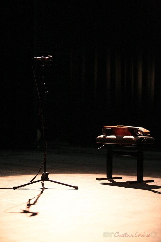 """Dernière répétition du """"Philippe Cauvin Solo Orchestra"""", Rocher de Palmer, 22/10/2014. Reproduction interdite - Tous droits réservés © Christian Coulais"""