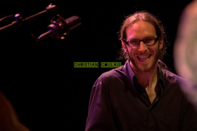 Festival JAZZ360 2014, Simon Pourbaix; Asix Quintet, Cénac. 06/06/2014