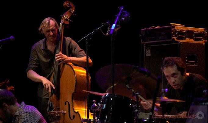Festival JAZZ360 2015, Jean-Claude Oleksiak, Antoine Paganotti; Jean-Claude Oleksiak Quartet, Cénac. 13/06/2015