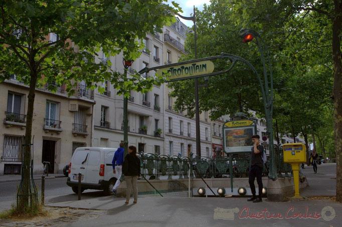 Rue Botzaris, Paris 19ème