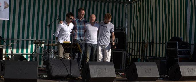 Festival JAZZ360 2014, Didier Ottaviani, Benoit Lugué, Guillaume Schmidt, Christophe Maroye; EBop Quartet, Cénac. 07/06/2014