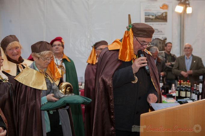 Jean-Marie Darmian, Maître cagouillard, Ban de la Confrérie de la Cagouille Créonnaise