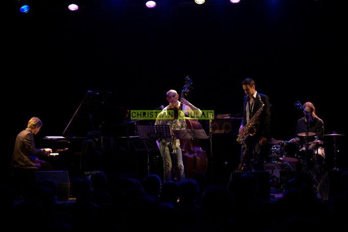 Festival JAZZ360 2014, Xavier Duprat, Freddy Buzon, Iazid Ketfi, Thomas Lachaize, Simon Pourbaix; Asix Quintet, Cénac. 06/06/2014