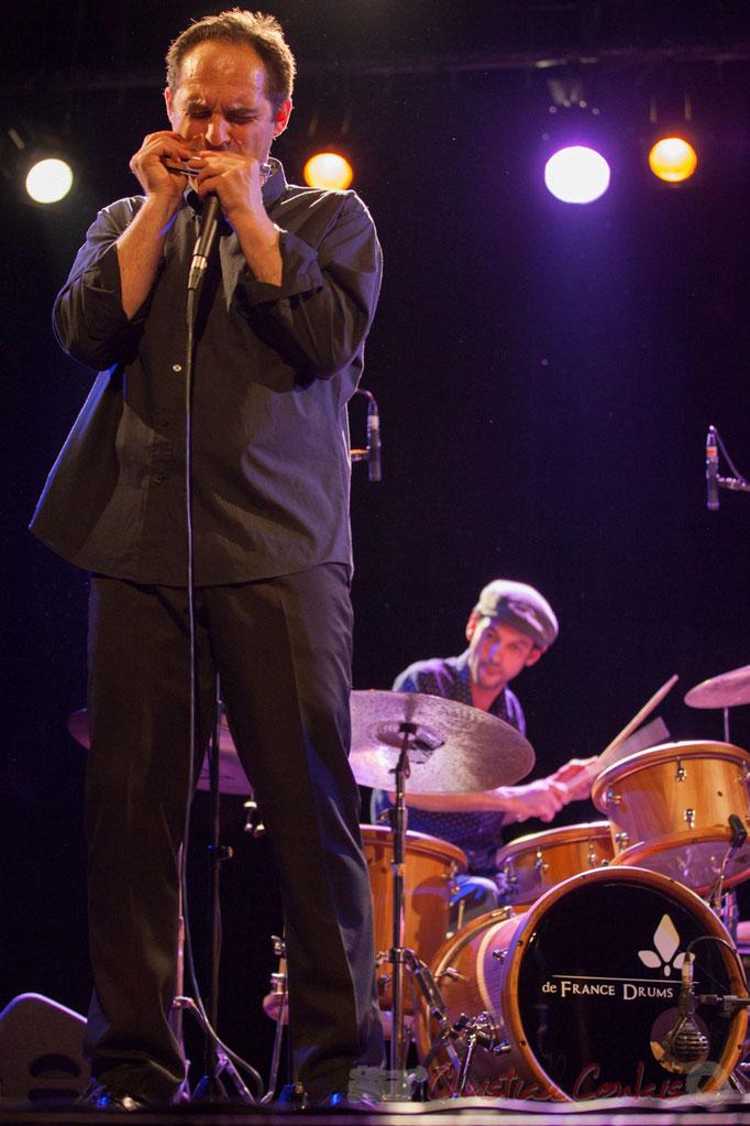Laurent Maur, Curtis Efoua Ela, Youpi Quartet, JAZZ360 à Cénac, 19/03/2016