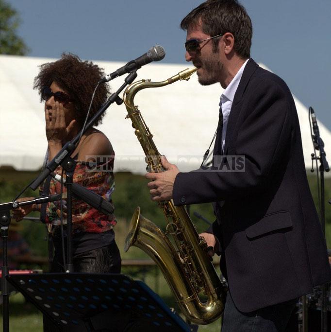 Mayomi Moreno, François-Marie Moreau; Akoda Quintet, Festival JAZZ360 2014, Quinsac. 08/06/2014