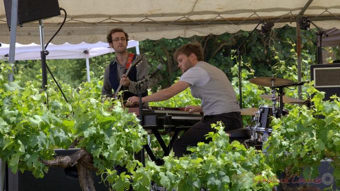Festival JAZZ360 2015, Charlie Dufau, Julien Bouyssou; Electro Boots. Château Lestange, Quinsac. 14/06/2015