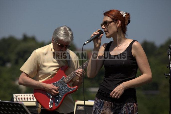 Jean-Luc Peon, Elodie Hurtaud; Mil&Zim Jazz, Festival JAZZ360 2014, Quinsac. 08/06/2014
