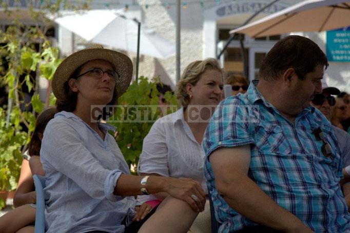 à G. Sandrine Salier, élue à Latresne en charge du Festival JAZZ360 2014, Latresne, 08/06/2014