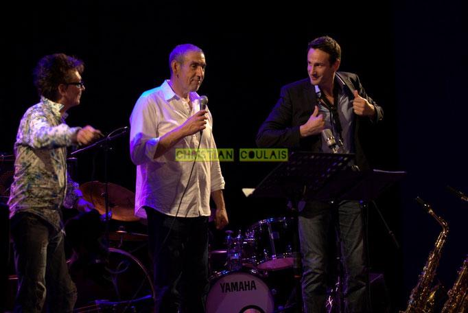 Festival JAZZ360 2014, Freddy Buzon, Iazid Ketfi, Thomas Lachaize; Asix Quintet, Cénac. 06/06/2014