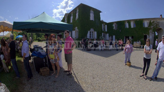 Château Lestange; Akoda Quintet, Festival JAZZ360 2014, Quinsac. 08/06/2014