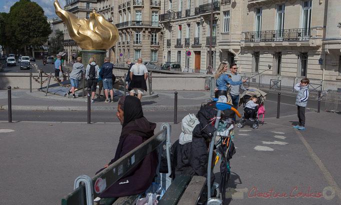 Flamme de la Liberté, Place de l'Alam, Paris 16ème