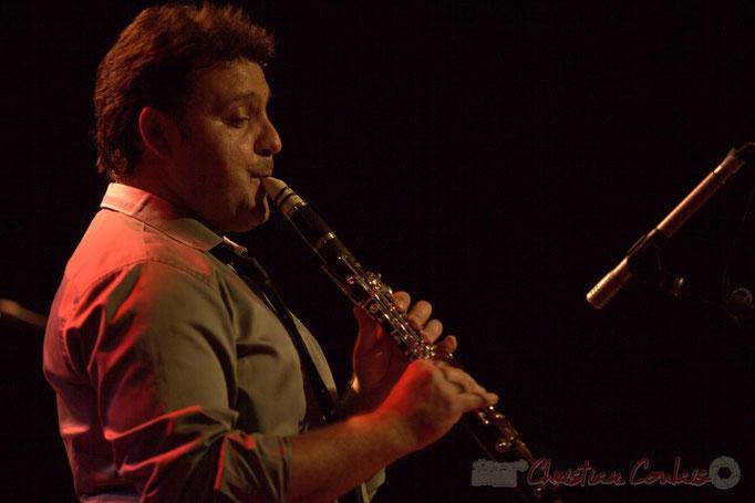 Jérôme Gatius; Jérôme Gatius New Orleans Big Four, Festival JAZZ360 2013, Cénac. 07/06/2013