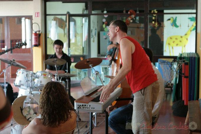 MasterCalss de Médéric Collignon, Festival JAZZ360 2011, Cénac; 04/06/2011