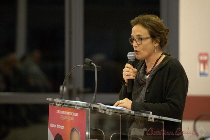 Mathilde Feld, candidate remplaçante aux élections départementales 2015