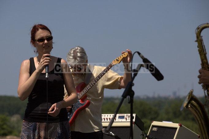 Elodie Hurtaud, Jean-Luc Peon; Mil&Zim Jazz, Festival JAZZ360 2014, Quinsac. 08/06/2014