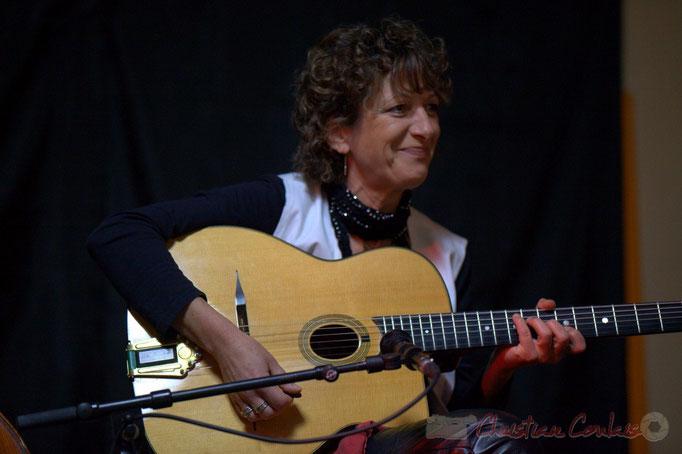 Bernadette Bourdier; Django Phil, Festival JAZZ360 2013, Latresne. 09/06/2013