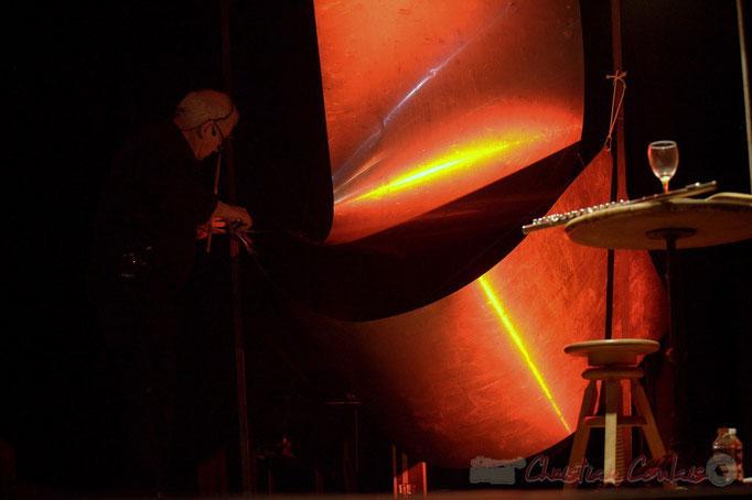 """Christian Vieussens; Nougaro en 4 couleurs, """"Hommage à Claude Nougaro"""". Les jeudis du Jazz, Créon, 16/04/2015. Reproduction interdite - Tous droits réservés © Christian Coulais"""