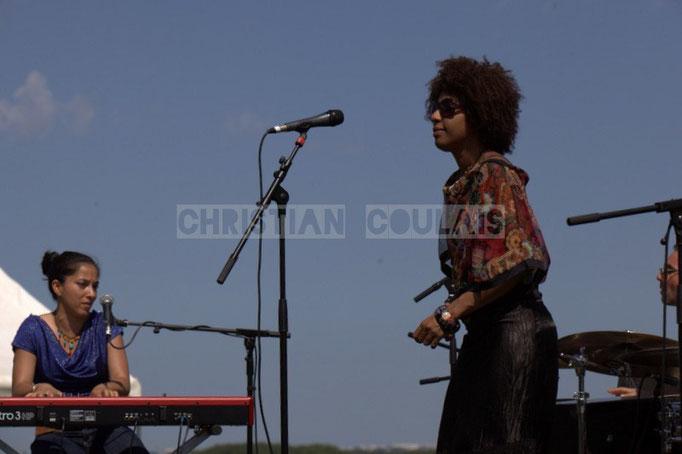 Valérie Chane-Tef, Mayomi Moreno; Akoda Quintet, Festival JAZZ360 2014, Quinsac. 08/06/2014