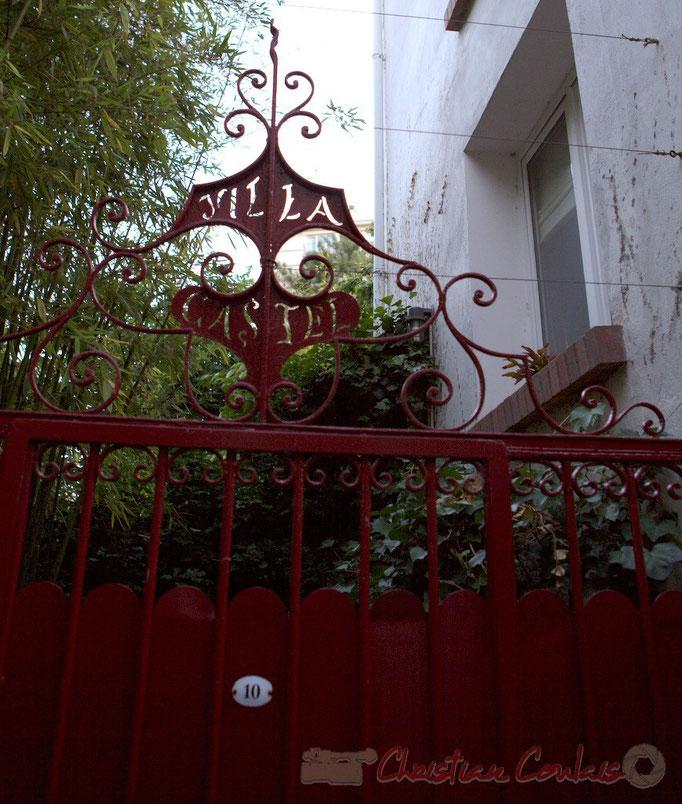 Passage Plantin, Villa Castel, Paris 20ème