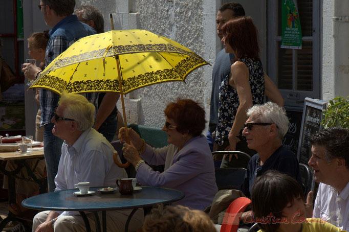 """""""Le soleil est au rendez-vous"""", Festival JAZZ360 2015, gare de Latresne, 14/06/2015"""