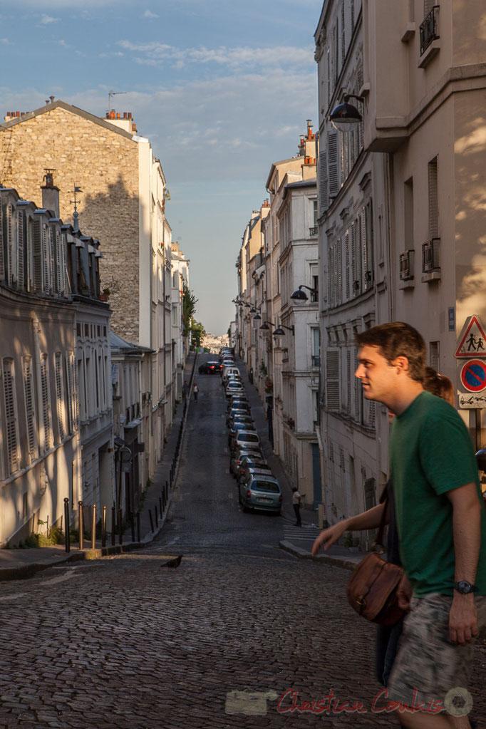 Rue Berthe, Monmartre, Paris 18ème arrondissement