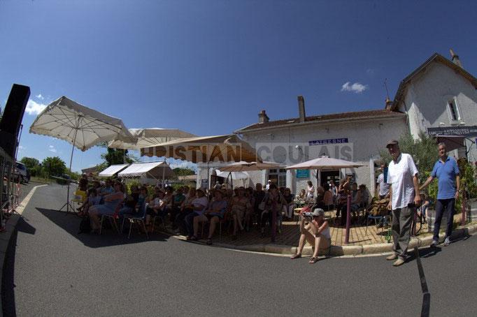 Festival JAZZ360 2014, piste cyclable Roger Lapébie, ancienne gare de Latresne, avenue de la République. 08/06/2014