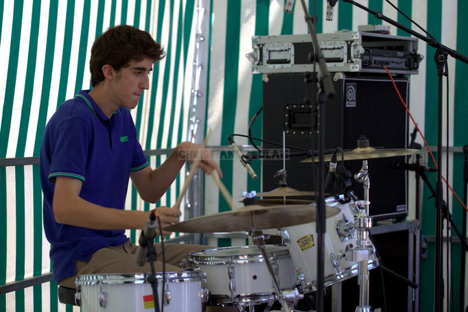 Festival JAZZ360 2014, Pierre Lucbert; Delbosque Band. Cénac, 07/06/2014