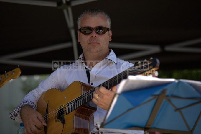 Geoffroy Boizard; Cadijo vagabond blues project, Festival JAZZ360 2014, Latresne. 08/06/2014