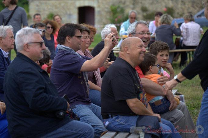 Festival JAZZ360 2015, Patrcik Pérez, Adjoint au Maire de Quinsac. Château Lestange. 14/06/2015