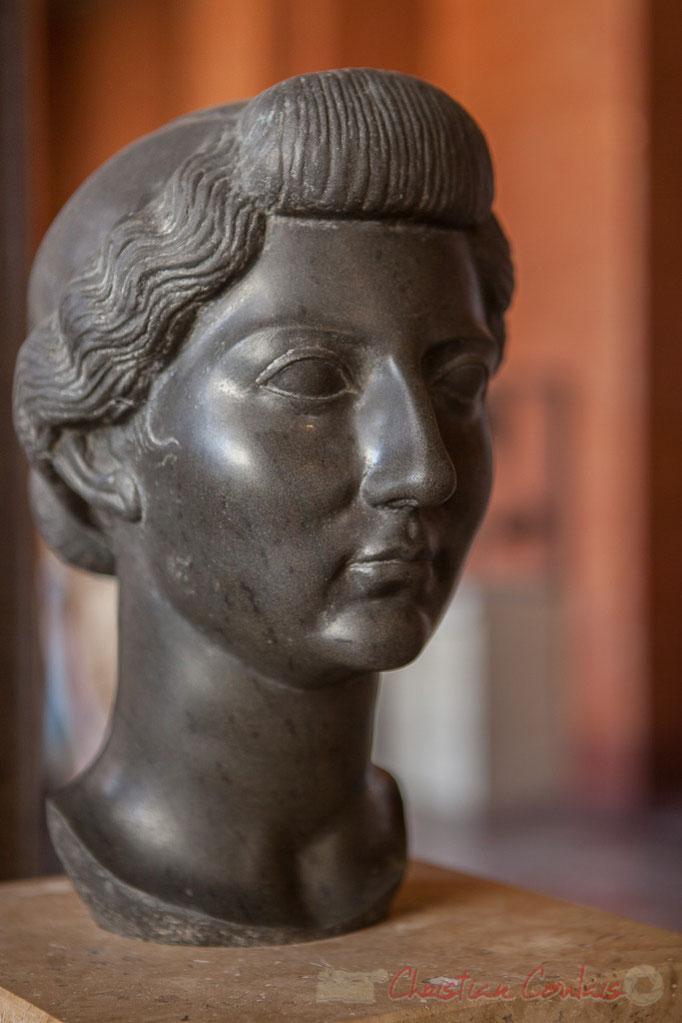 Livie épouse Octove-Auguste en 38 avant JC, (vers 31 avant JC), Musée du Louvre