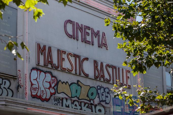 Majestic Bastille, cinéma indépendant d'Art et Essai, Boulevard Richard Lenoir, Paris 11ème arrondissement