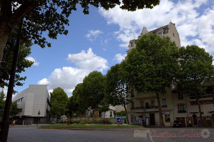 Place de Rhin et Danube, Paris 19ème