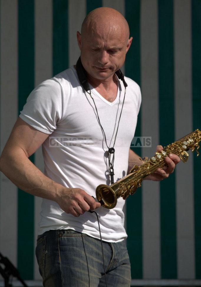 Festival JAZZ360 2014, Guillaume Schmidt; EBop Quartet, Cénac. 07/06/2014