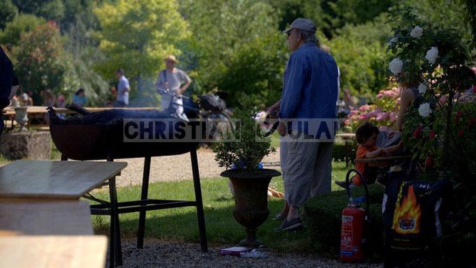"""""""Grillades"""" Festival JAZZ360 2014, château Lestange, Quinsac. 08/06/2014"""