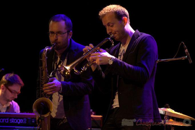 Régis Ferrante, Guillaume Gardey de Soos, les Métropolitains, Festival JAZZ360 2013