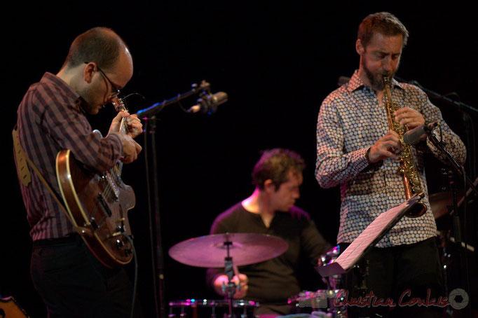 Festival JAZZ360 2015, Pierre Perchaud, Antoine Paganotti, Christophe Panzani