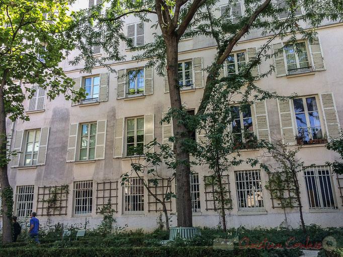 Habitation (1er étage), Jardin du Musée national Eugène Delacroix, Paris 6ème