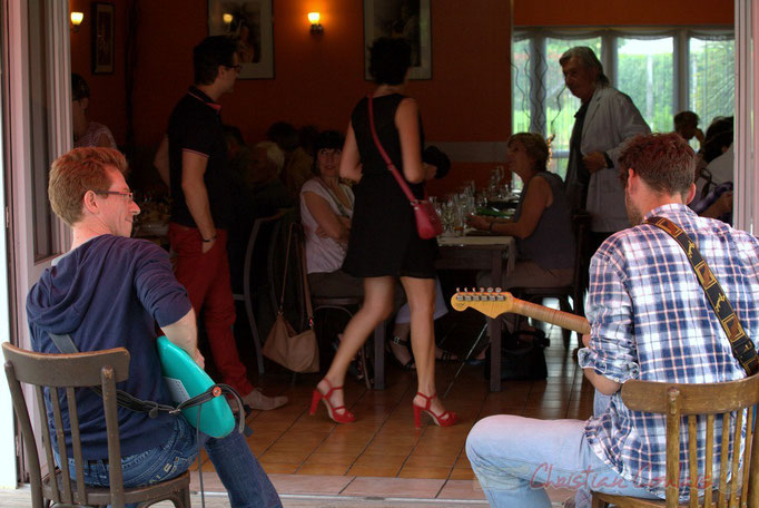 Festival JAZZ360 2015, Jazz in Box, restaurant Les Acacias, Cénac
