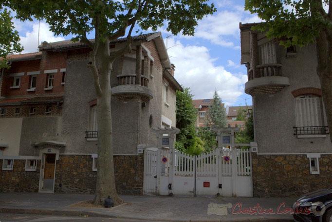 Hameau du Danube, rue du Général Brunet, Paris 19ème