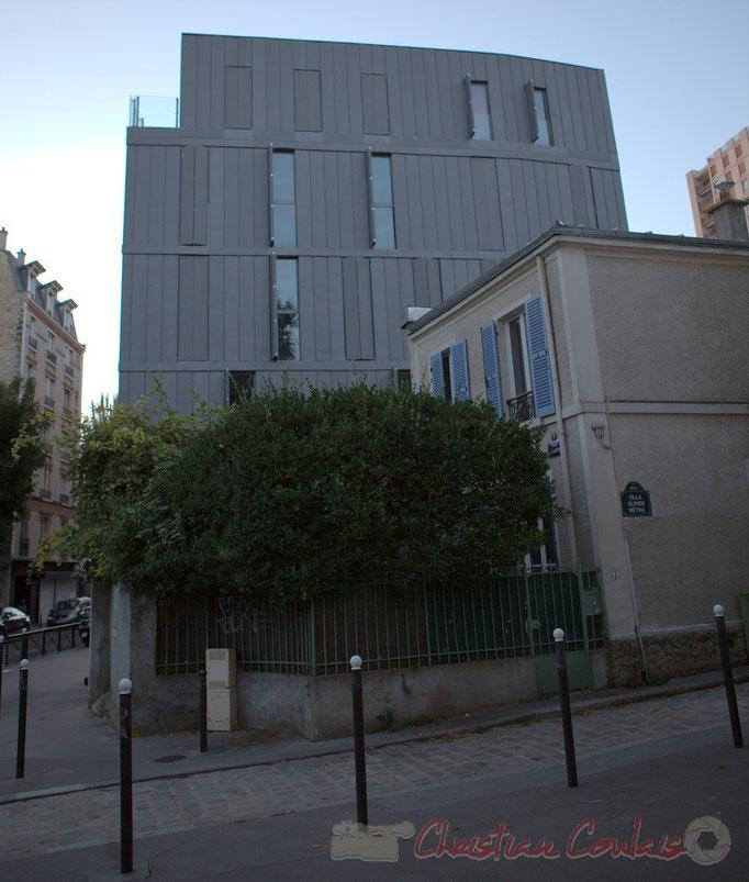 Rue Olivier Métra / Villa Olivier Métra, Paris 20ème