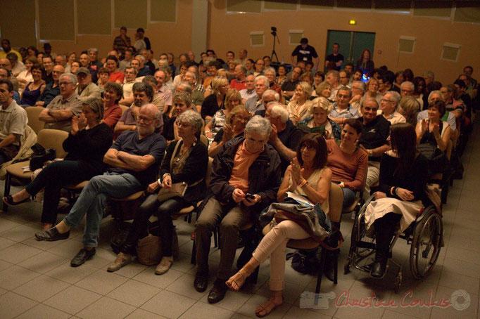 Festival JAZZ360 2015, une salle culturelle comble, Cénac. 13/06/2015