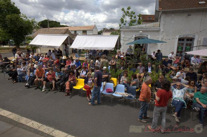 Festival JAZZ360 2015, piste cyclable Roger Lapébie, gare de Latresne, 14/06/2015