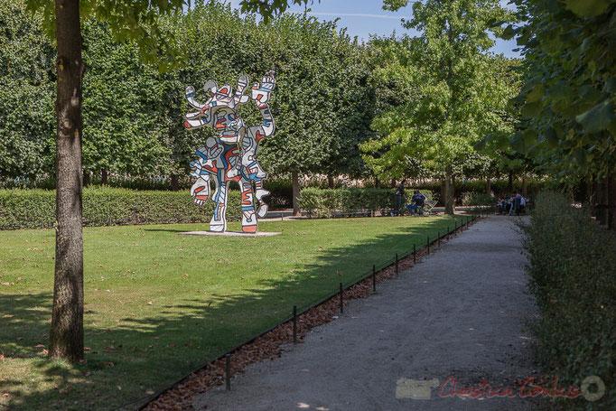 Le Bel Costumé, Jean Dubuffet, Jardin des Tuileries, Paris 1er