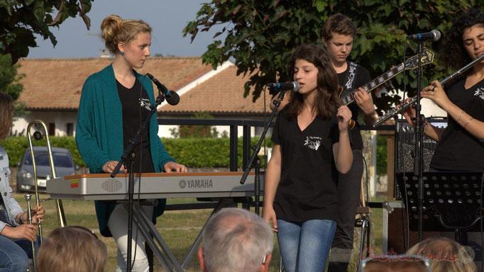 Festival JAZZ360 2015, concert du Big Band du Collège de Monségur, Cénac, 12/06/2015
