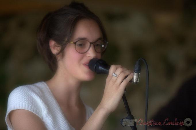 Laure Sanchez, HCL Trio, Festival JAZZ360 2013, Quinsac. 09/06/2013