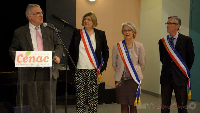 Jean-Marie Darmian, député suppléant de Martine Faure, Vice-président du Conseil départemental de la Gironde