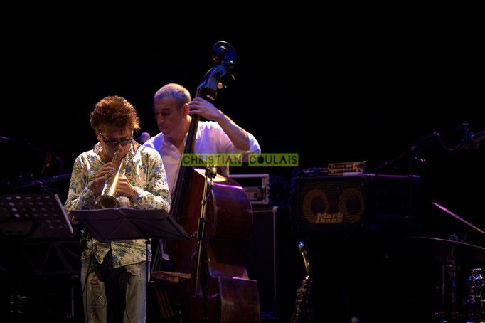 Festival JAZZ360 2014, Freddy Buzon, Iazid Ketfi; Asix Quintet, Cénac. 06/06/2014