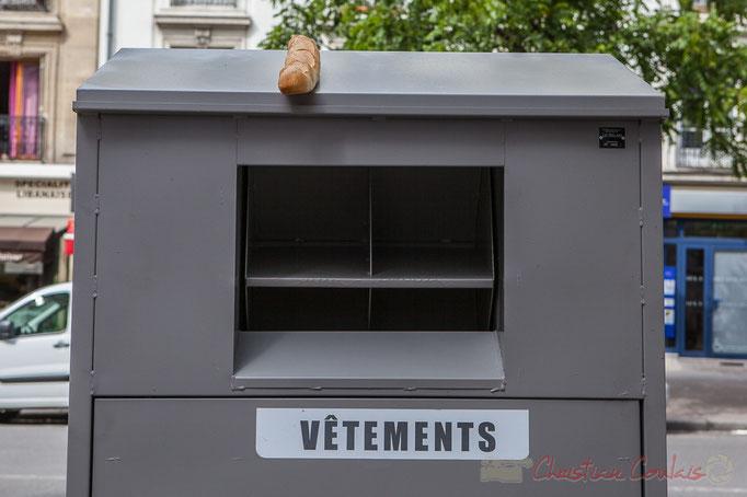 Borne d'Apport Volontaire (BAV), Le Relais, Avenue Philippe Auguste, Paris 11ème arrondissement