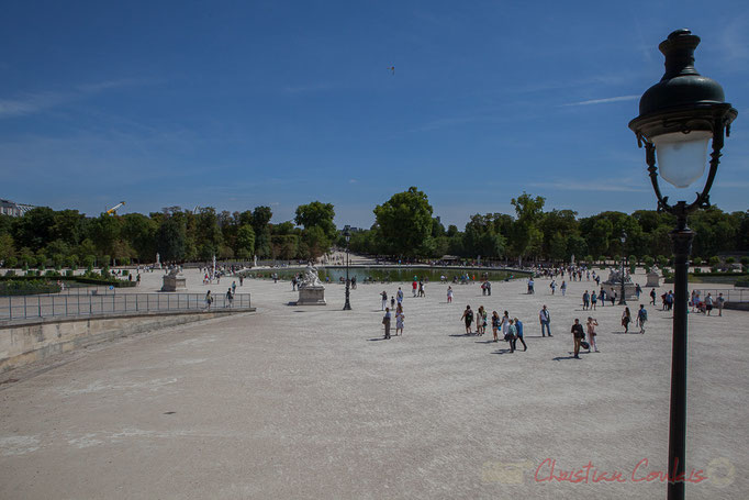 Le Bassin Octogonal, Jardin des Tuileries, Paris, 1er