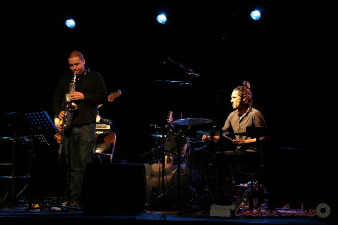 Denis Guivarc'h, Vincent Sauve; Fada. Festival JAZZ 2010, Cénac. 14/05/2010